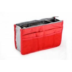 Organizér do kabelky - červený