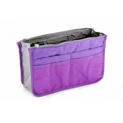 Organizér do kabelky - fialový