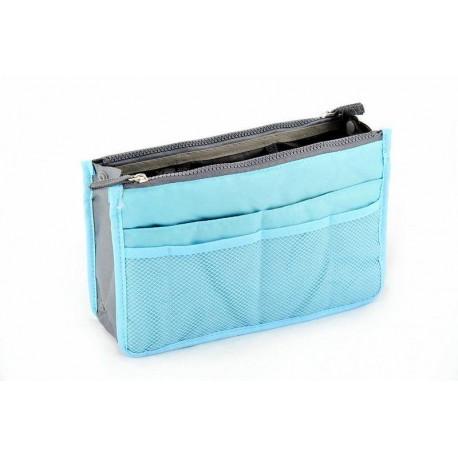 Organizér do kabelky - modrý