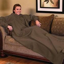Televizní deka - hnědá