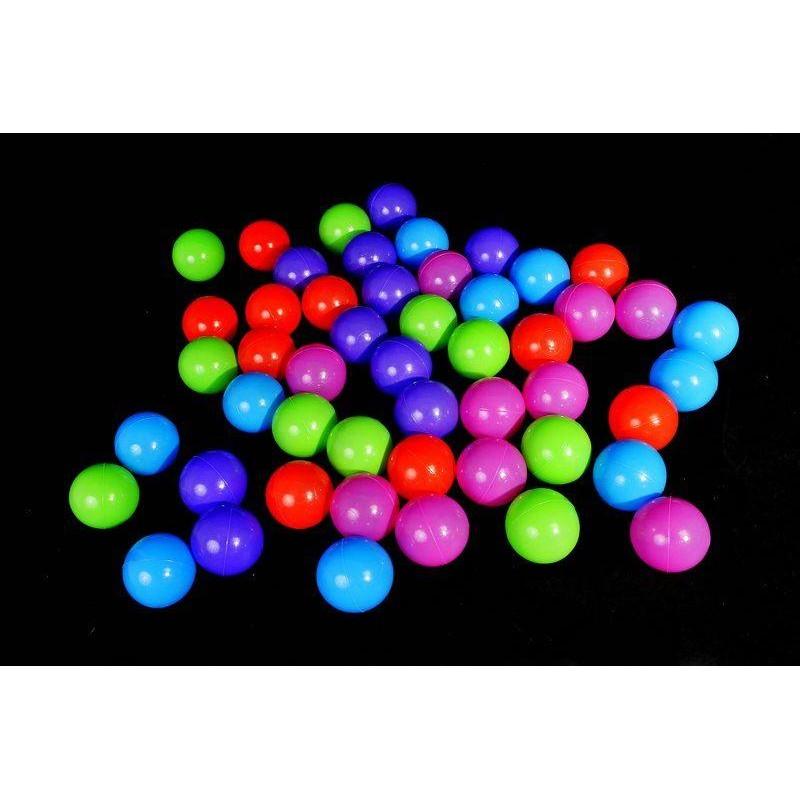 Plastové míčky 200ks (8cm)