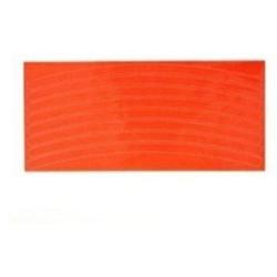 Reflexní pásky na kolo - oranžová
