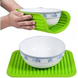 Kuchyňská silikonová podložka - zelená