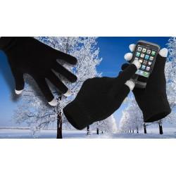 Rukavice pro smartphony - černé
