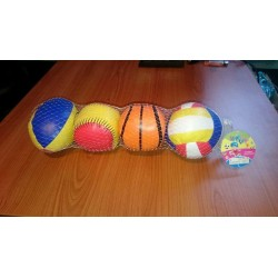 Sada sportovních mini míčků 4ks