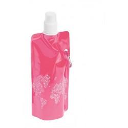 Skládací láhev - růžová