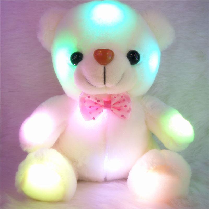 Svítící medvídek