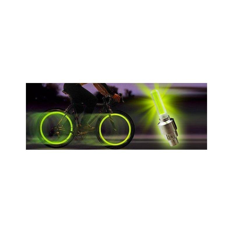 Svítící ventilky 2ks - žluté
