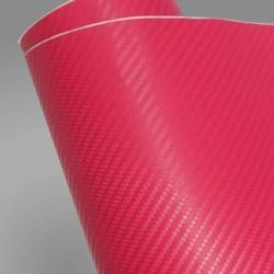 Karbonová fólie - růžová