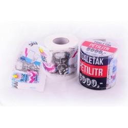 Toaletní papír pětitisícovka – druhá jakost
