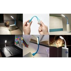 USB světlo k notebooku - modré