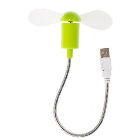 USB větráček - zelený