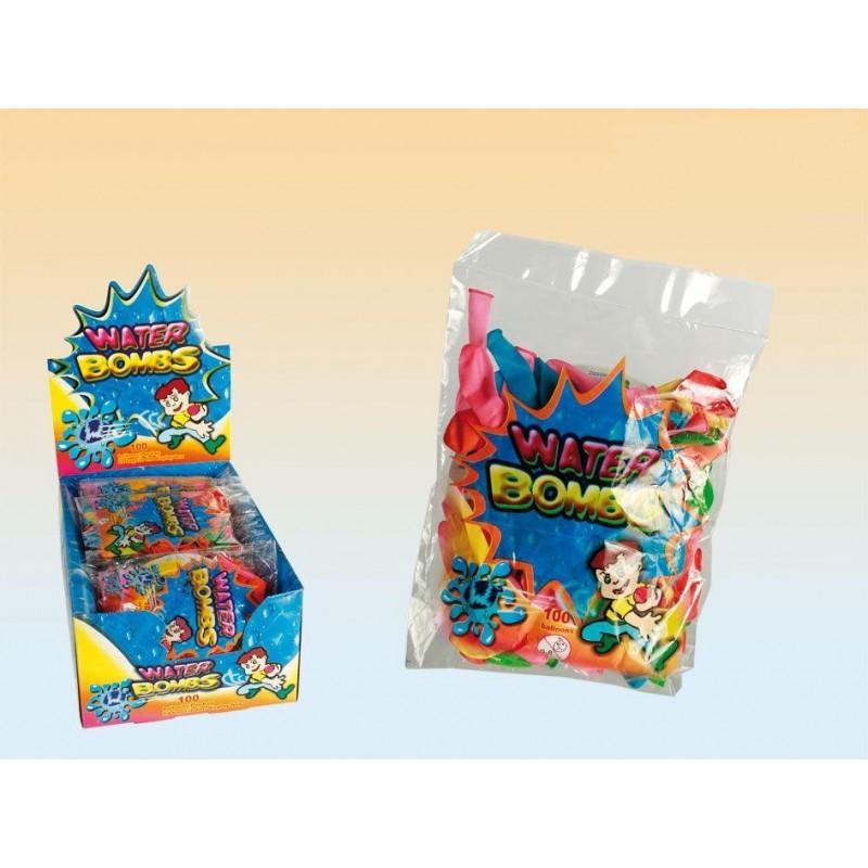 Vodní bomby 100ks - mix barev