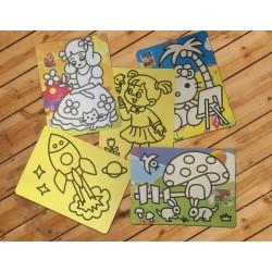 Kreslící písek malý set