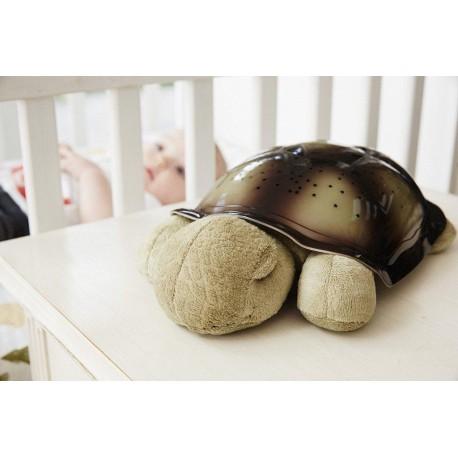 Noční svítící želvička - hnědá