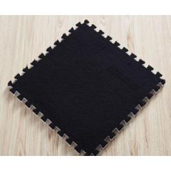 Puzzle kobereček - 6 ks - černý