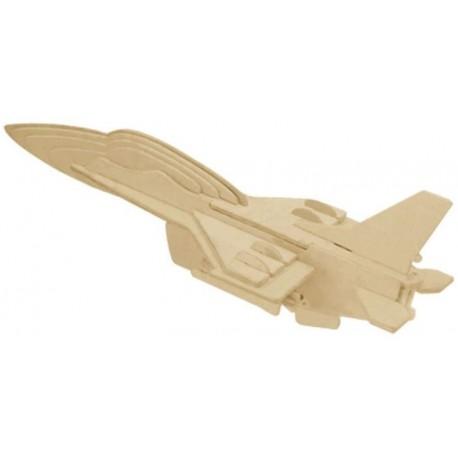 3D puzzle - F-16 - bojové letadlo