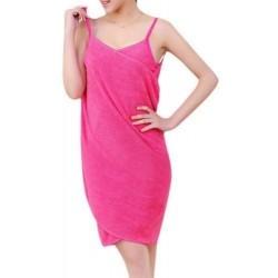 Ručníkové šaty - růžové