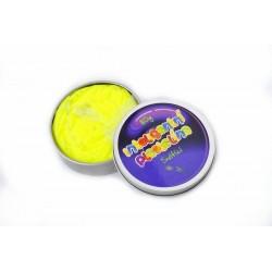 Inteligentní plastelína - svítící - žlutá