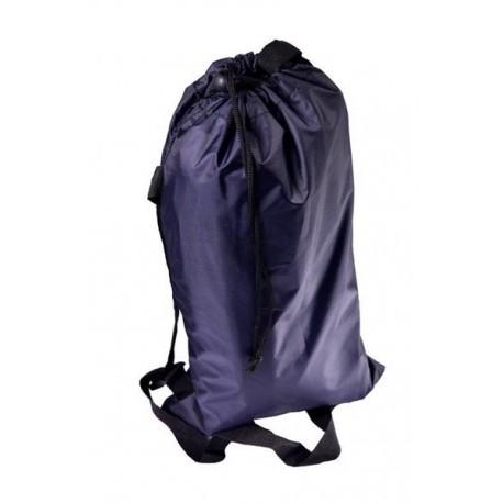 Nafukovací vak Lazy bag dvouvrstvý - černý