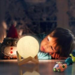 Lampička - měsíc