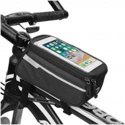 Brašna na kolo pro Smartphone - černá