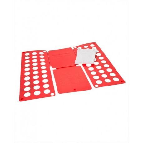Deska na rychloskládání oblečení Červená
