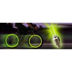 Svítící ventilky 2 ks - žluté