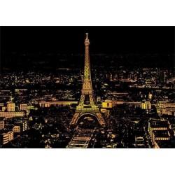 Stírací obraz - Paříž