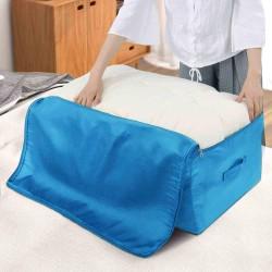 Úložný vak na oblečení a deky - modrý