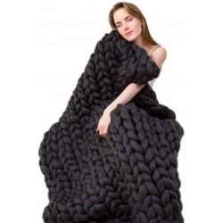 Příze pro ruční pletení - černá