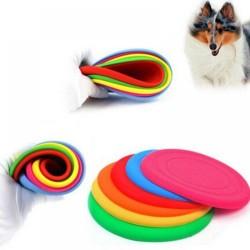 Silikonové frisbee pro psy barva zelená