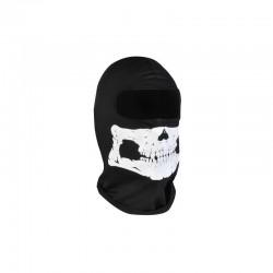 Víceúčelová kukla černo-bílá lebka ISO 00005591