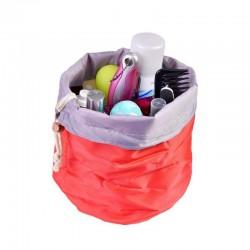 Cestovní taška na kosmetiku - červená