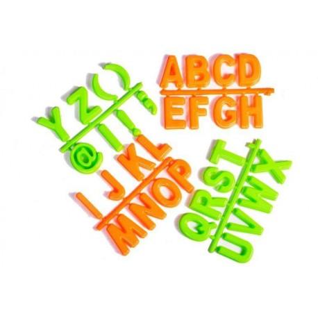 Formičky do písku - abeceda