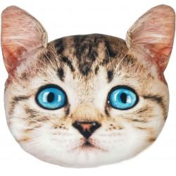 Polštář v designu kočky - světlý