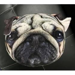 Polštář v designu psa - tmavý