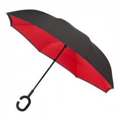 Obrácený deštník - červený