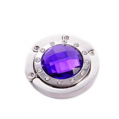 Háček na kabelku - fialový