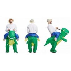 Nafukovací kostým dinosaura