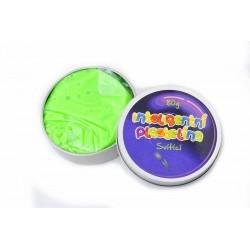 Inteligentní plastelína - svítící - zelená