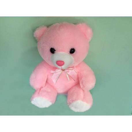 Svítící medvídek - růžový