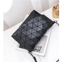 Geometrická kabelka - matná černá