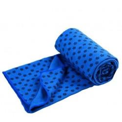 Protiskluzový ručník - modrý