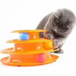 Hračka pro kočky - pyramida