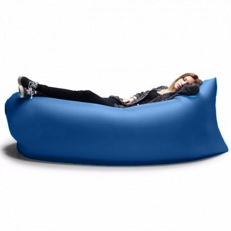 Nafukovací vak Lazy bag - modrý